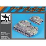Pz Kpfw IV Ausf J accessories