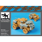 British Humber Mk III accessories set