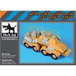 Sd Kfz 263 accessories set