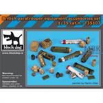 British paratrooper equipment accessories set