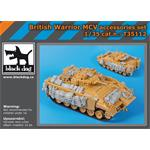 British Warrior MCV accessories set