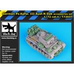 German Pz.Kpw III Ausf.N DAK accessories set