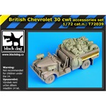 British Chevrolet 30cwt accessories set