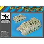 British ARV Sherman