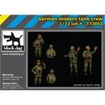 German Bundeswehr modern tank crew