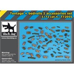 Tentage plus bedrols 1 accessories set
