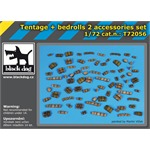 Tentage plus bedrols 2 accessories set