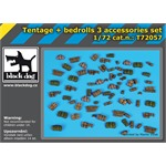 Tentage plus bedrols 3 accessories set