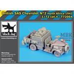 British SAS chevrolet N°2 Nortr Africa 1942 Conv