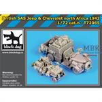 British SAS jeep - chevrolet Conversion Set