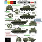 Czechoslovakia 1968 #2 T-62A, BTR-152, BRDM-2