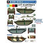 LVT-4 Amtracs on Iwo Jima and Okinawa
