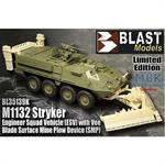 M1132 Stryker Vee Blade Surface Mine Plow