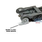 Sd.Kfz.11 / 251 winter wheels