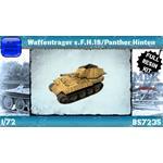 Waffenträger s.F.H.18/Panther Hinten