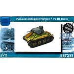 Panzerschlepper Hetzer / Pz.III Turm
