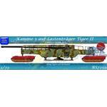 Kanone 5 auf Lastenträger Tiger II