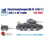 Panzer Mk IV, 744(e) (A13) & UE Trailer