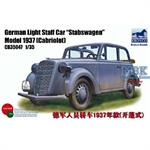 German Opel Light Staffcar -Stabswagen-
