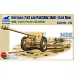 German 76,2mm PaK36(r) Anti Tank Gun