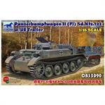 PzKpf. II(F) Sd.Kfz 122 w/UE Trailer