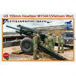 M114A1 155mm US Howitzer - Vietnam Era