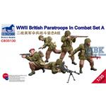 WW2 British Paratroops In Combat Set A