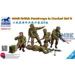 WW2 British Paratroops In Combat Set B