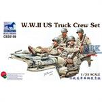 WWII US Truck/Jeep Crew Set