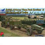 Jeep 1/4 ton Truck & Trailer & 75mm Howitzer