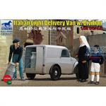 Italian Light Delivery Van w/Civilians