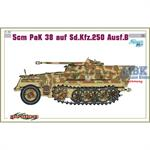 5cm PaK38 auf Sd.Kfz.250 Ausf.B ~ Cyber Hobby