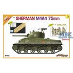Sherman M4A4 75mm (Cyber Hobby Orange Box Value Bo