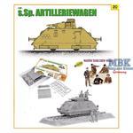 s.Sp.Artilleriewagen w/Waffen Tank Crew  (Cyber Ho