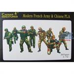 Modern French Army & Chinese PLA