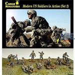Modern US Soldiers in Action Set 2