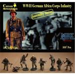 WW2 German Africa Corps Infantry