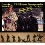 WW2 German Panzergrenadier (Camouflage Cape)