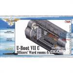 U-Boot Typ VII C Offiziersräume(Revell)