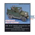 M151 Vietnam armoured version Conversion Set