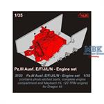 Pz.III Ausf. E/F/J/L/N engine set for DRAGON