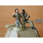 German Tank Crew - France 1944 (2 fig.)
