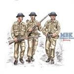 British soldiers WW II (3 fig)