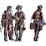 Japanese Army AF Bomber Crew Members