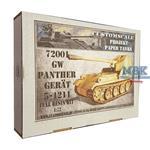Panther Gerät 5-1211 mit 12,8cm Pak 44 Krupp
