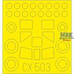 CASA C-212-100 1/72 Masking Tape