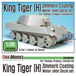 King Tiger [H] Zimmerit Decal set