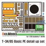 T-34/85 Basic PE detail up set