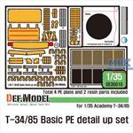 T-34/85 Basic PE detail up set