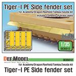 German Tiger-I Tank Side fender set